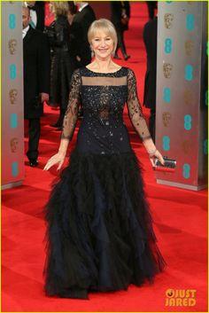 Helen Mirren - BAFTAs 2014 Red Carpet | helen mirren baftas 2014 red carpet 05 - Photo