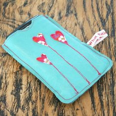 Leather Heart Applique phone case | GWAG