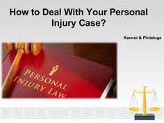 Kanner & Pintaluga Review have given their views that how you should handle your personal injury case.