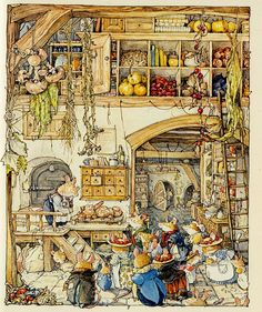 by Jill Barklem (Brambly Hedge)