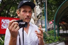 Arto Saari with his Leica camera in Hong Kong a couple of weeks ago.  Good to chat about photography and learn about the kit he uses. Check out his feed if you haven't already. @artofoto @volcom_asia #legend #leicacraft #leica #leicacamera #leica50mm #photographer