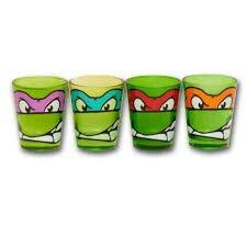 Ninja turtle shot glass