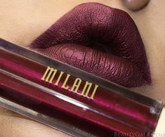 Milani Amore Metallic Matte Lip in Pretty Problemattic. @milani