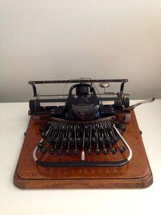1904 Blickensderfer Number 7 Typewriter Manual Typewriter Portable Working Typewriter RARE Collectible