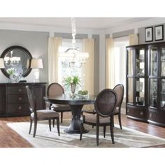 A.R.T. Furniture - Optum 5 PC Round Table Dining Room Set