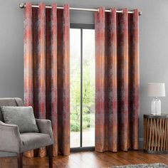 5a Fifth Avenue Serenity Lined Eyelet Curtains Textures