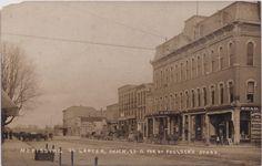 https://flic.kr/p/L9Rd2j | SE Lapeer MI c.1906 RPPC Downtown Stores and…