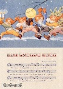 Rudolf KOIVU - Sävelkortti - UP - 0.6 € - Signeeratut taiteilijakortit - Postikortit - Keräily - Huuto.net - (avoin)