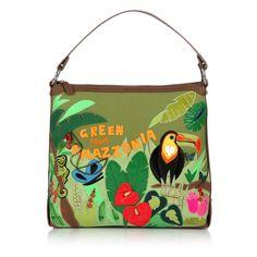 #Green #Amazzonia #Bag #Braccialini #Cartoline #SS13