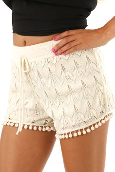 A Leap Of Faith Shorts: Cream- Use code THOLLISREP at checkout to save 10% EVERY time you shop at www.shophopes.com! Free shipping in US and Canada. International shipping is available. SHARE THIS CODE WITH YOUR FRIENDS, AND HAPPY SHOPPING:)