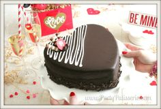 Thanks to Debbie over at Party Patiesserie for her fun pics of our new Valentine's Day Cake! Order yours today at http:coldstonecakes.com!