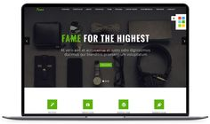 Fame - Bootstrap 3 Free HTML Website Template