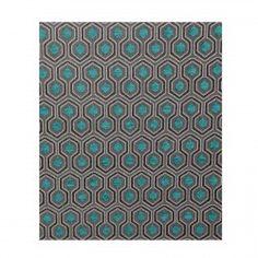 Rideau turquoise Optimo Thevenon