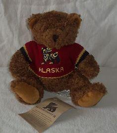 "9"" #native northwest #artists #maynard johnny jr. plush stuffed teddy bear alaska,  View more on the LINK: http://www.zeppy.io/product/gb/2/131799815137/"