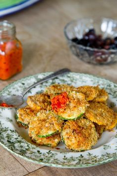 Oven-Baked Zucchini Parmesan Crisps Recipe on Yummly. Parmesan Chips, Baked Zucchini Parmesan, Bake Zucchini, Zucchini Rounds, Zucchini Crisps, Zucchini Bites, Zucchini Fritters, Veggie Recipes, Appetizer Recipes