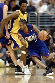 Allen Iverson vs. Kobe Bryant