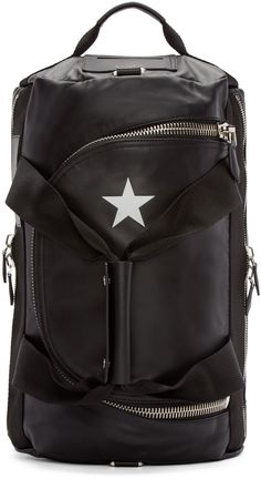 Givenchy Black Star Backpack