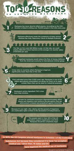 Legalizing Marijuana: 14 Infographics That Explain the Issues | Visual.ly Blog
