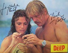 Jacqueline Bisset & Nick Nolte in The Deep (1977)