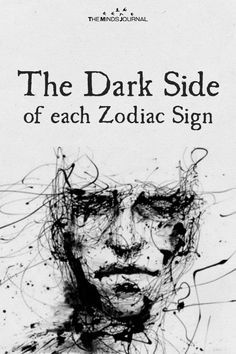 Have you ever wondered what your darkest traits are? Read about the Dark Side of each Zodiac Sign and know yourself better. Zodiac Characteristics, Zodiac Traits, Zodiac Art, Zodiac Horoscope, Horoscopes, Zodiac Mind, Zodiac Sign Quiz, Zodiac Sign Facts, Astrology Signs