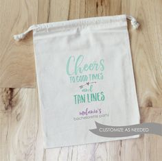 CHEERS to GOOD TIMES and Tan Lines  by foryourlittlemonkey on Etsy