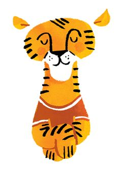 lydia nichols: a tiger and a wedding Tiger Illustration, Character Illustration, Animal Sketches, Animal Drawings, Tiger Art, Tiger Cubs, Tiger Tiger, Bear Cubs, Bengal Tiger