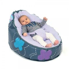bean bag for babies | Doomoo Seat Patchwork Violet, Bean Bag for Babies & Kids - Doomoo from ...