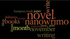 Could you write words in 30 days? National Novel Writing Month, A Writer's Life, The Secret World, Grammar Lessons, Learning To Write, First Novel, Love Words, Writing Tips, Book 1
