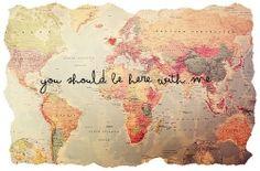 dame la mano y vamos a darle la vuelta al mundo
