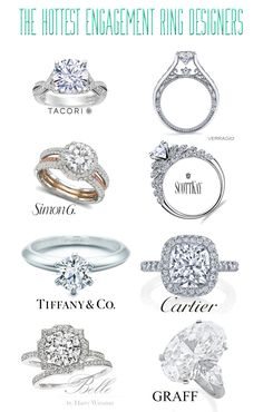 Since this blog is called Designers and Diamonds, I figured I'd combine the two today. Some of my favorite engagement rings are those crafted by the best designers in the bridal game, and each has ...