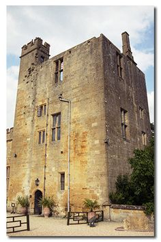 Sudeley Castle, Gloucestershire England, The present structure was built in the 15th century. Queen Catherine Parr (1512-1548) the sixth wife of King Henry VIII is buried in the castle's Chapel