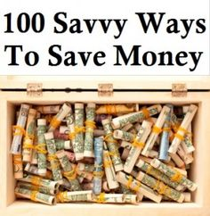 The Homestead Survival | 100 Savvy Ways To Save Money – Frugal Tips | http://thehomesteadsurvival.com