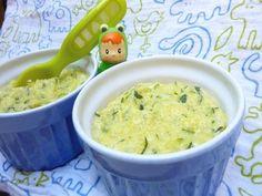 Recette polenta à la courgette pour bébé, cuisinez polenta à la courgette pour bébé