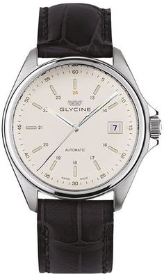 Glycine Watch Combat 6 Automatic 36mm #bezel-fixed #bracelet-strap-alligator #brand-glycine #case-depth-10-45mm #case-material-steel #case-width-36mm #date-yes #delivery-timescale-1-2-weeks #dial-colour-silver #gender-mens #luxury #movement-automatic #official-stockist-for-glycine-watches #packaging-glycine-watch-packaging #style-dress #subcat-combat #supplier-model-no-3916-11-lbk9 #warranty-glycine-official-2-year-guarantee #water-resistant-50m