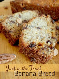 Junk in the Trunk Banana Bread - The Taylor House