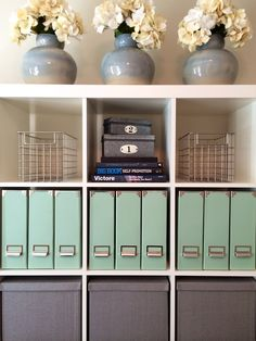 I really want one of these big cube storage shelves for the office! Great place…