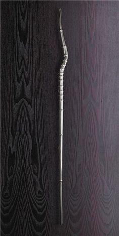 Staff - Cast aluminium handle - Philip Watts Design - Nottingham