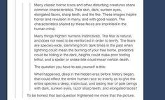 Pale beings with dark, sunken eyes, razor sharp teeth, and elongated faces