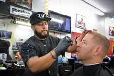 Fresko opened launched FresKo FadeZ Barbershop in March 2012, but the third generation barber has been cutting hair as far back as he can remember.