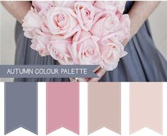 Autumn Wedding Colour Palettes