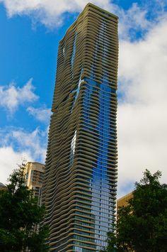Aqua building, Chicago