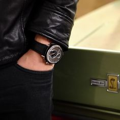 26 days to go: The P-51-01 - casual yet classy. - Shop now for recwatches > http://ift.tt/1Ja6lvu