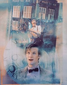 Matt Smith as the Doctor..he's so cute, you just want to hug him. :-)