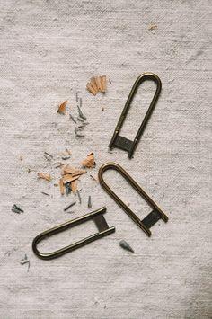 Brass German Pencil Shaver