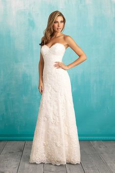 Style 9309 Lace always whispers of timeless romance.