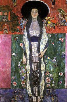 Portrait d'Adele Bloch-Bauer II Artiste : Gustav Klimt Dimensions : 1,9 m x 1,2 m Création : 1912