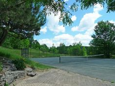 387171 20th Side Road. Mono, Ontario. Tennis court.