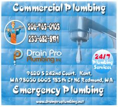 Drain Pro Plumbing Inc is always on-call ready to help with your commercial plumbing, drainage and related needs. Commercial Plumbing