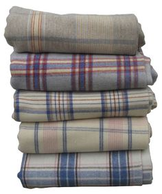 Welsh wool blankets Blankets like these presently fetch between £40 - £60 at the country auctions.