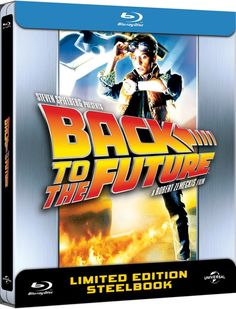 Back to The Future - Zavvi Exclusive Limited Anniversary Edition Steelbook #BackToTheFuture #Steelbook #BTTF